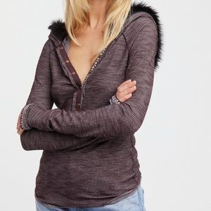 Free People Just A Furry Thermal small